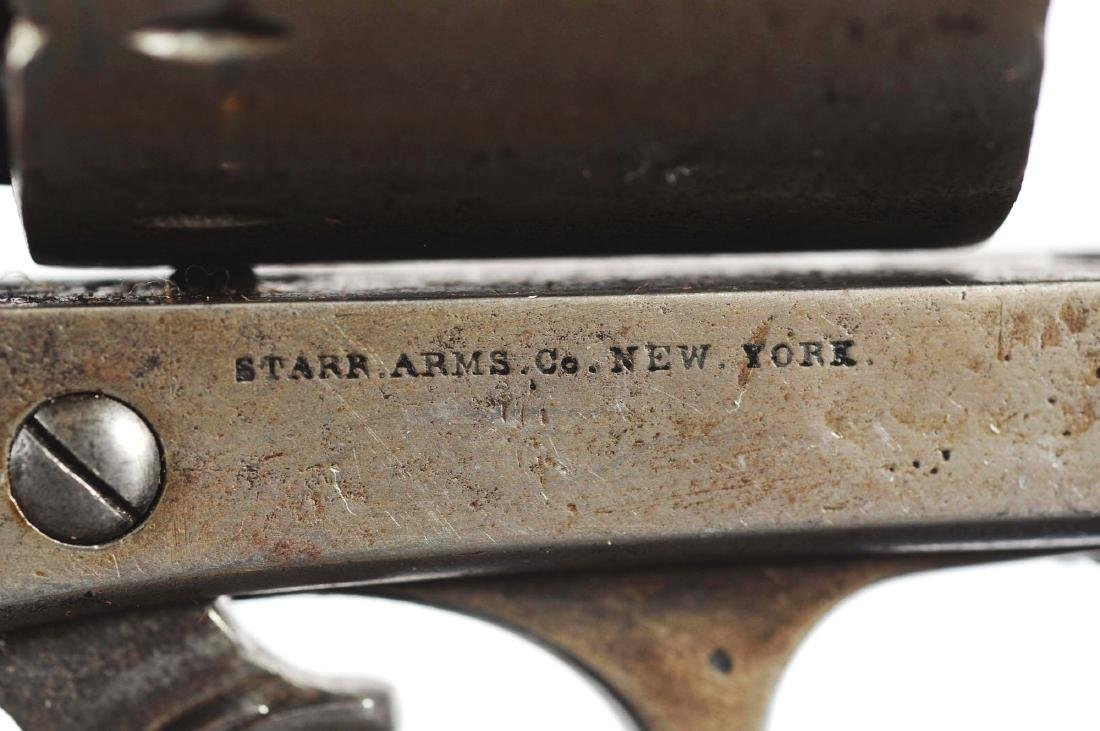 (A) Starr Arms Co. Double Action Model 1858 Army - 3