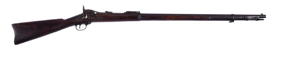 (A) U.S. Springfield Trapdoor Breech-Loading Rifle.