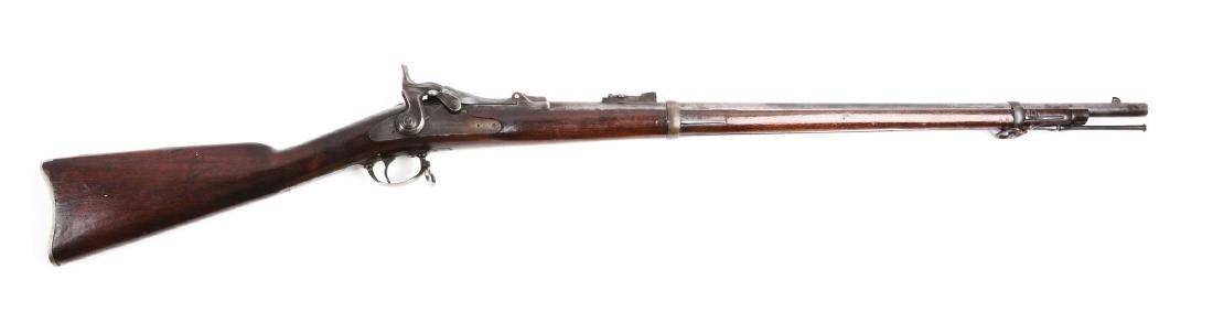 (A) U.S. Springfield Trapdoor Cadet Parts Rifle.