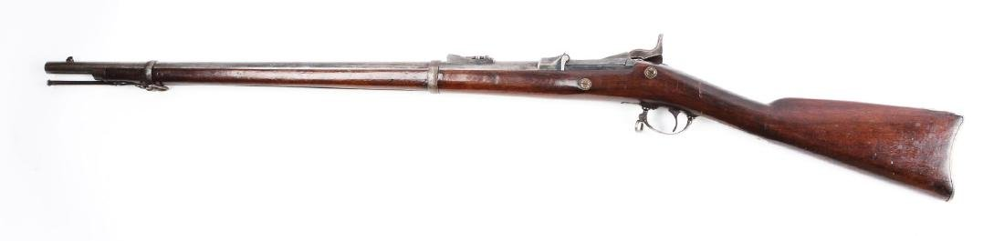 (A) U.S. Springfield Trapdoor Cadet Parts Rifle. - 2