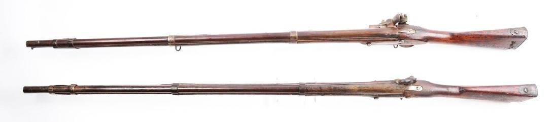 Lot of 2: (A) Early U.S. Springfield Model 1816 and - 3