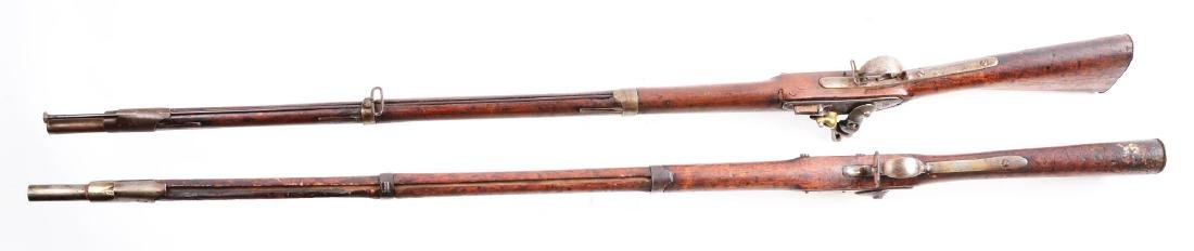 Lot of 2: (A) Early U.S. Springfield Model 1816 and - 4