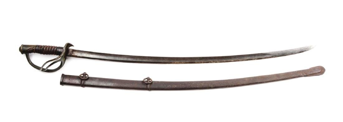 Early U.S. Model 1860 Cavalry Saber by Ames.
