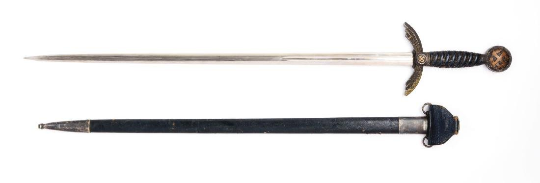 WWII German Luftwaffe Sword. - 2