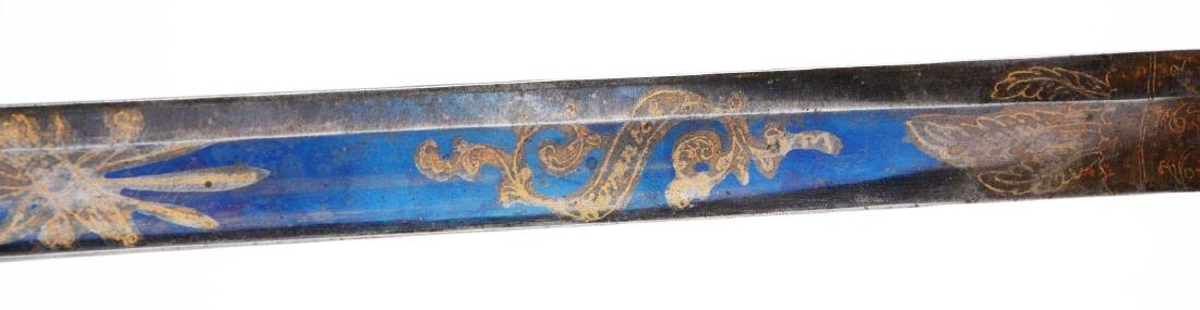 Early and Fine American Pillow Pommel Officer's Sword. - 5
