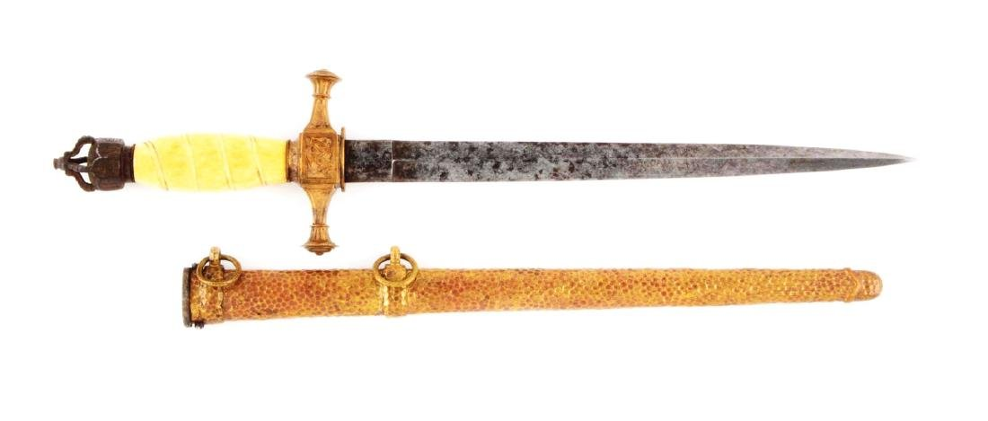 Very Rare 1848 Prussian Navy Dagger.