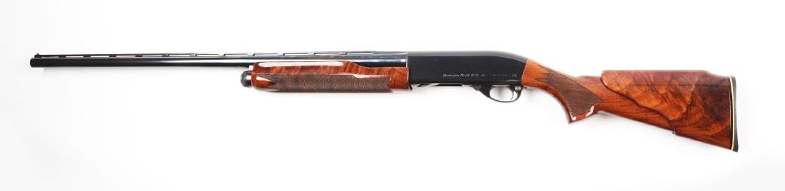 (C^) Custom Remington Model 870 Slide Action Shotgun. - 2
