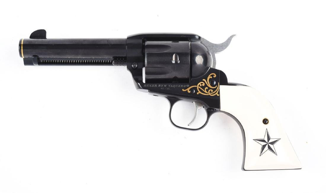 (M) Cased Ruger Custom Edition Vacquero .45 Colt  1 of - 3