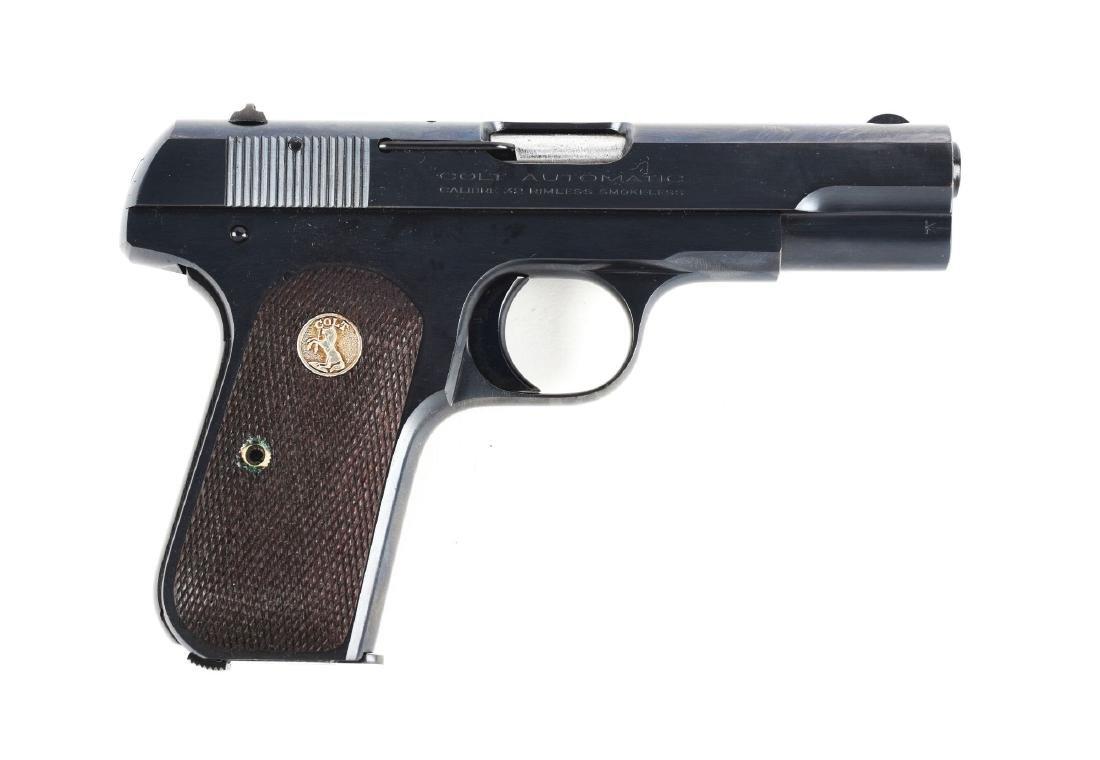 (C) Boxed Colt Model 1903 Hammerless Semi-Automatic