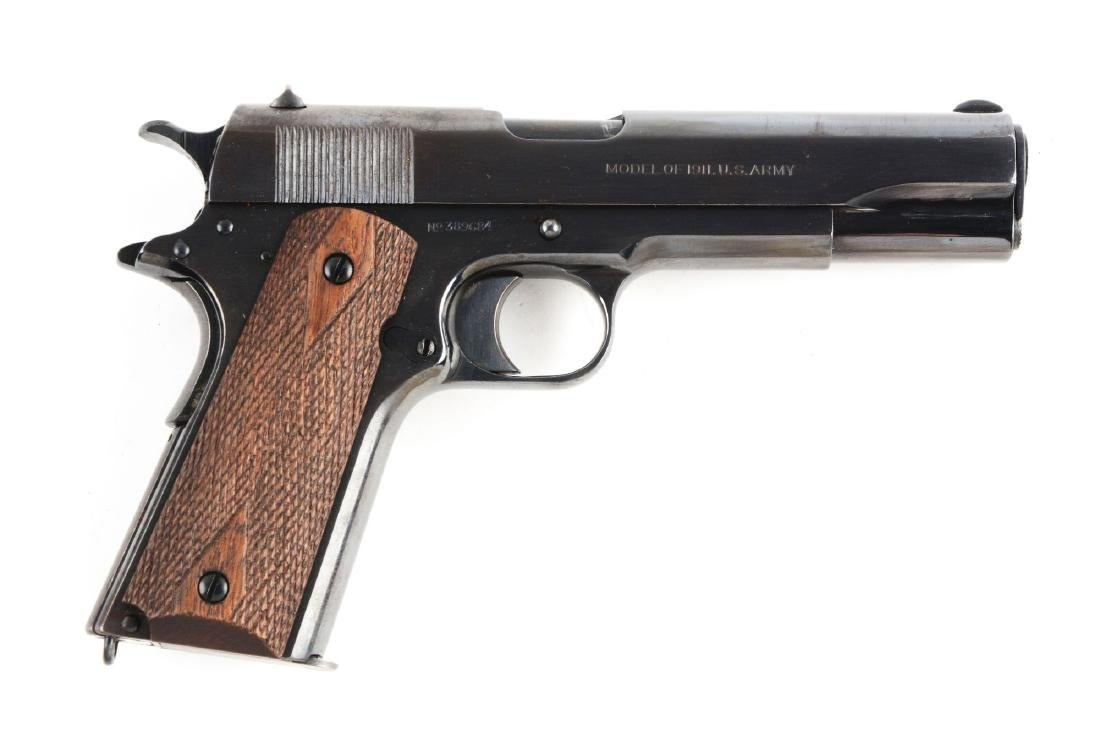 (C) Colt U.S. Army Model 1911 Semi-Automatic Pistol.