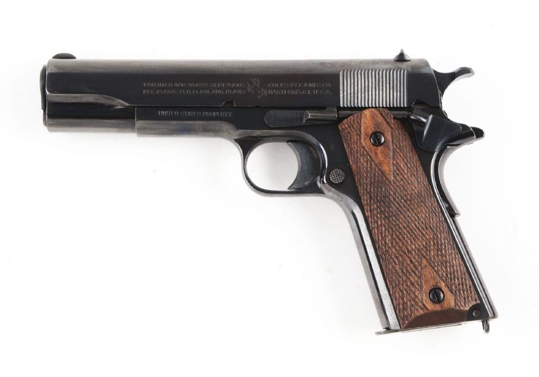 (C) Colt U.S. Army Model 1911 Semi-Automatic Pistol. - 3