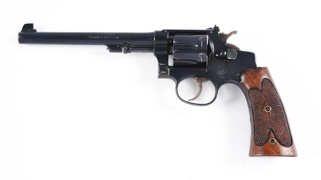 "(C) 1920's Smith & Wesson .22/.32 HE ""Bekeart†- 2"