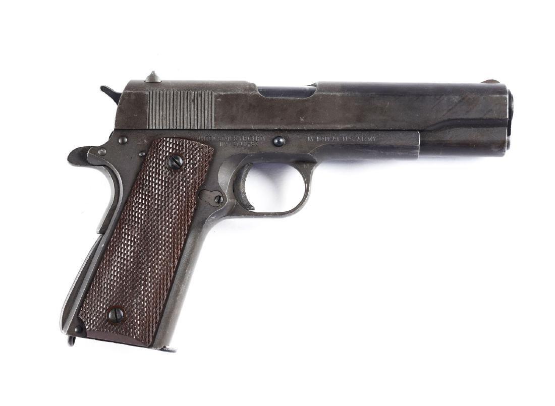 (C) Ithaca Model 1911-A1 U.S. Semi-Automatic Pistol.
