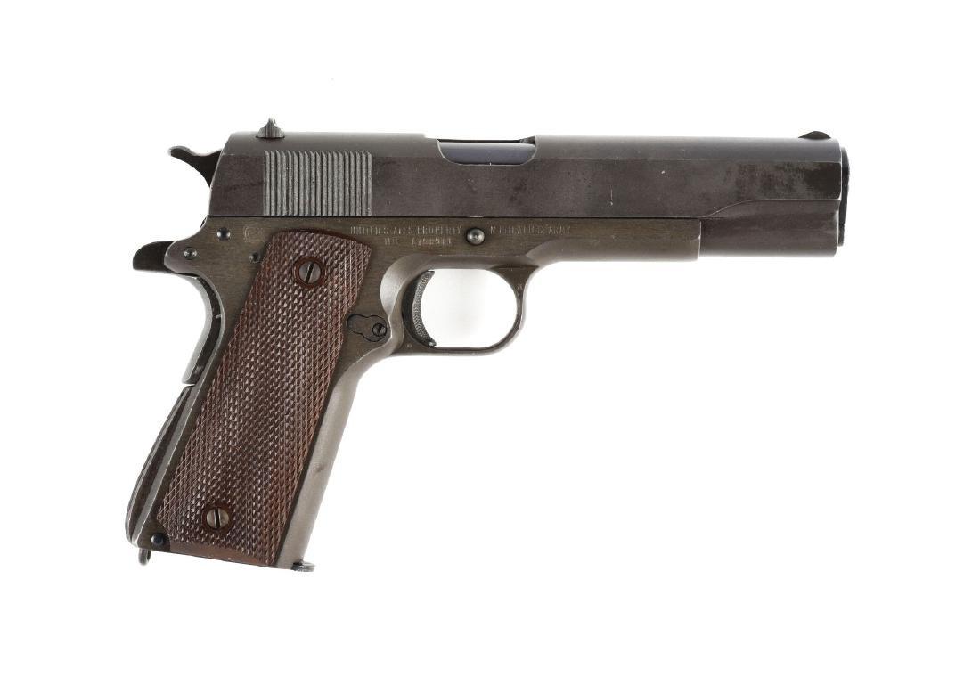 (C) Boxed U.S. Marked Remington Rand 1911 A1