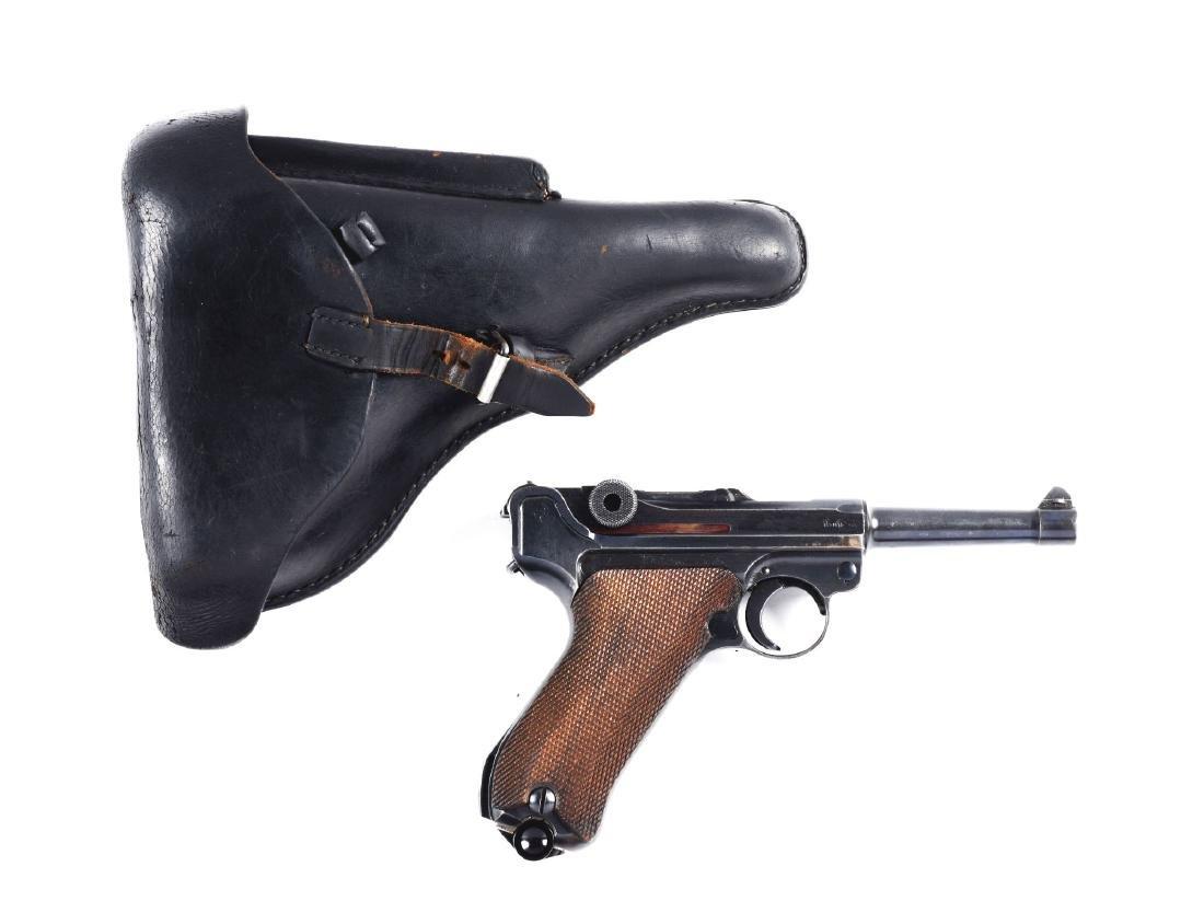 (C) 1934 Mauser byf Luger Semi-Automatic Pistol.