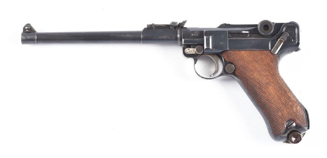 (C) DWM 1914 Artillery Luger Semi-Automatic Pistol  w/ - 2