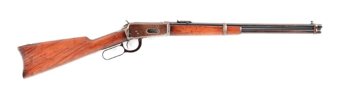 (C) Winchester Model 1894 Saddle Ring Carbine.