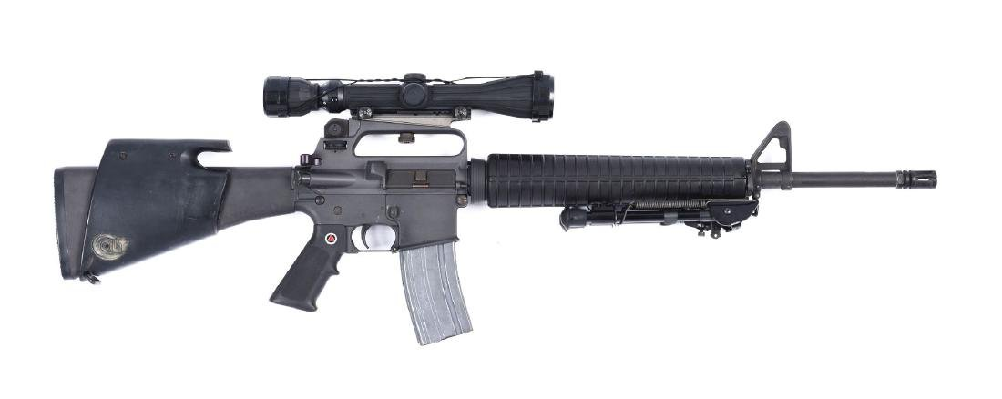 (M) Colt Sporter Match HBAR Semi-Automatic Rifle.
