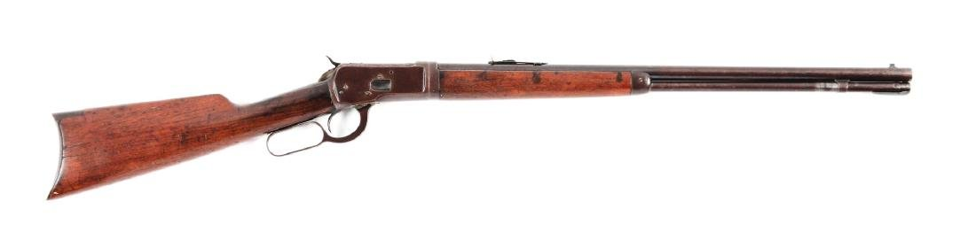 (C) Winchester Model 1892 Lever Action Rifle.
