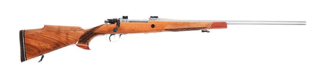 (C) Jarrett Custom Bolt Action Rifle.