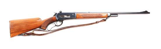 (C) Winchester Model 71 Deluxe Lever Action Rifle (Long