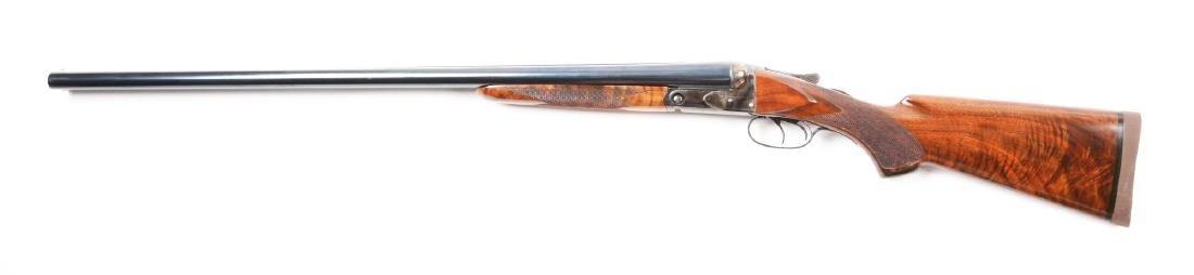 (C) A.H. Fox Sterlingworth 12 Bore SXS Shotgun. - 2