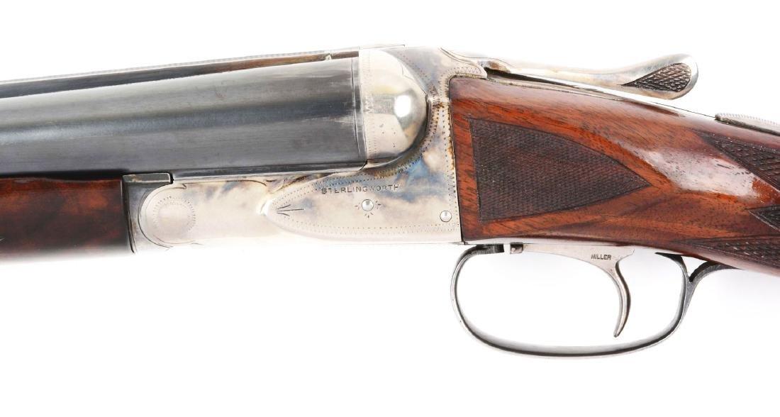 (C) Fox Sterlingworth 12 Bore Double Barrel Boxlock - 3