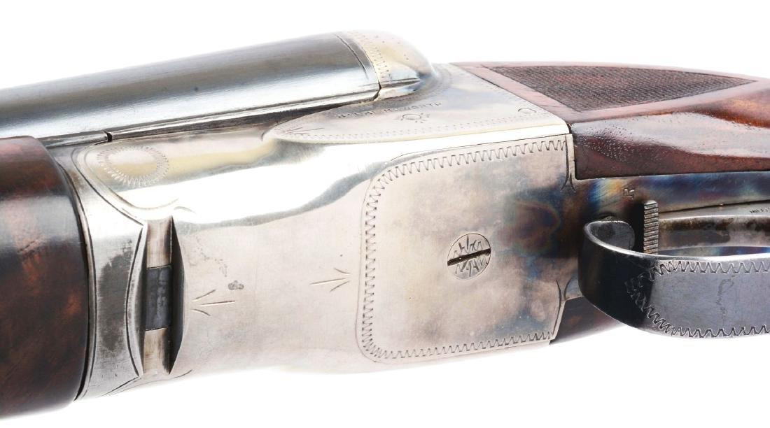 (C) Fox Sterlingworth 12 Bore Double Barrel Boxlock - 7