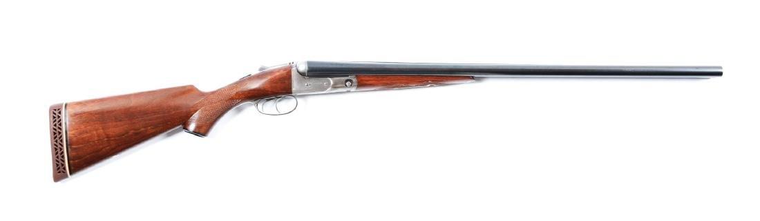 (C) Parker Vulcan Grade 12 Bore SxS Shotgun.