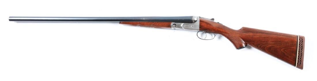 (C) Parker Vulcan Grade 12 Bore SxS Shotgun. - 2