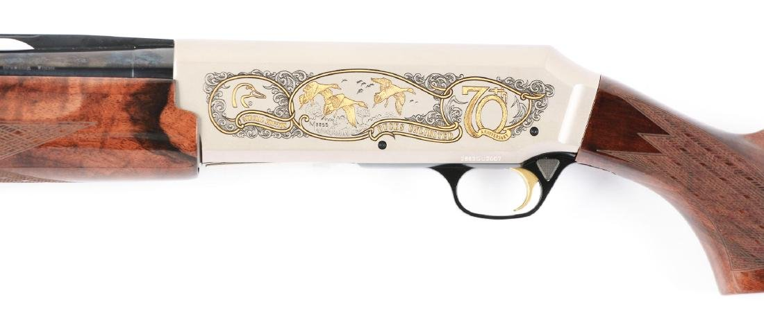 (M) Cased Browning Silver Hunter Ducks Unlimited 70th - 3
