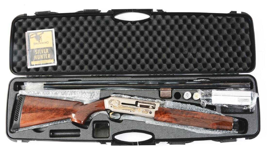 (M) Cased Browning Silver Hunter Ducks Unlimited 70th - 6