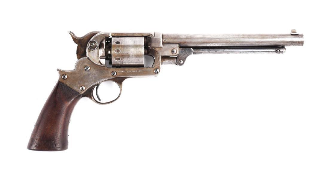 (A) Starr Model 1856 .44 Caliber Percussion Revolver.