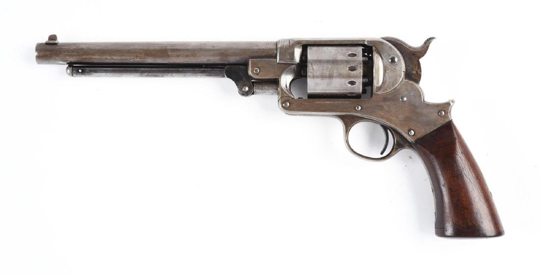 (A) Starr Model 1856 .44 Caliber Percussion Revolver. - 2