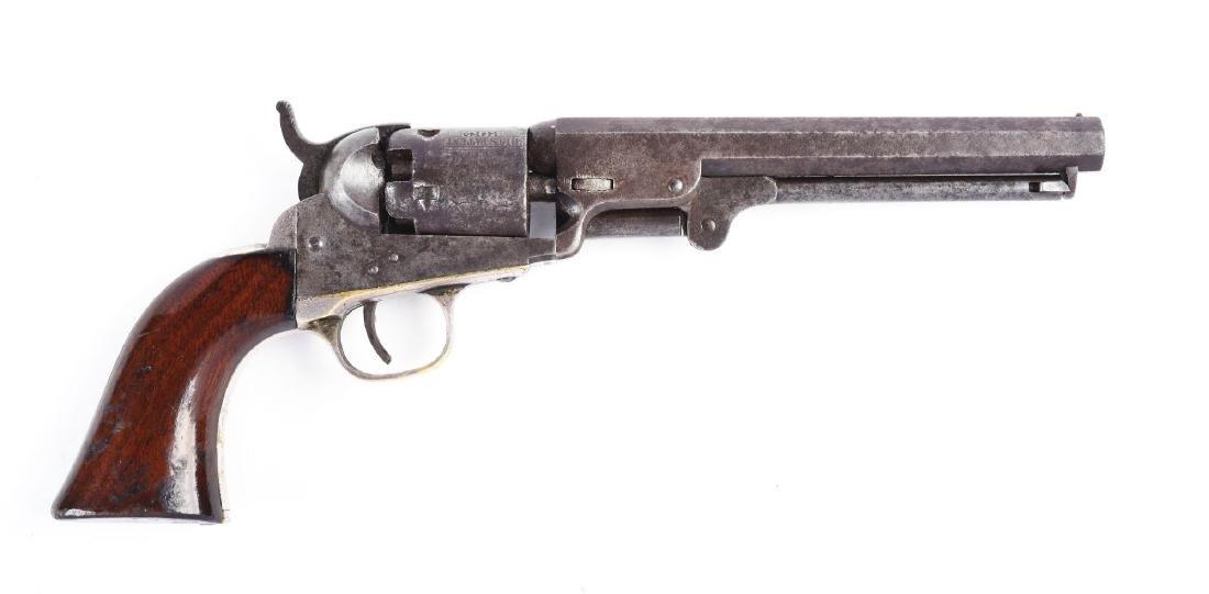 """(A) Cased Colt Model 1849 6"""" Barrel Percussion Pocket - 2"""