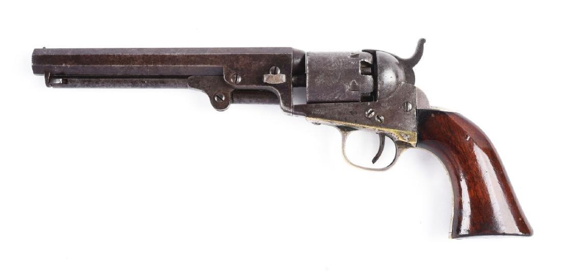 """(A) Cased Colt Model 1849 6"""" Barrel Percussion Pocket - 3"""