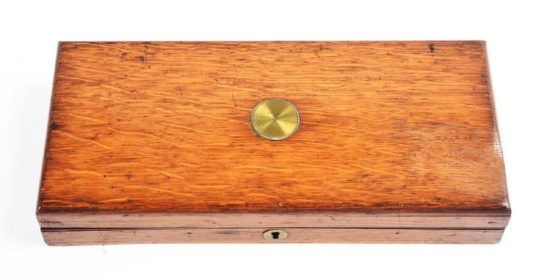 """(A) Cased Colt Model 1849 6"""" Barrel Percussion Pocket - 6"""
