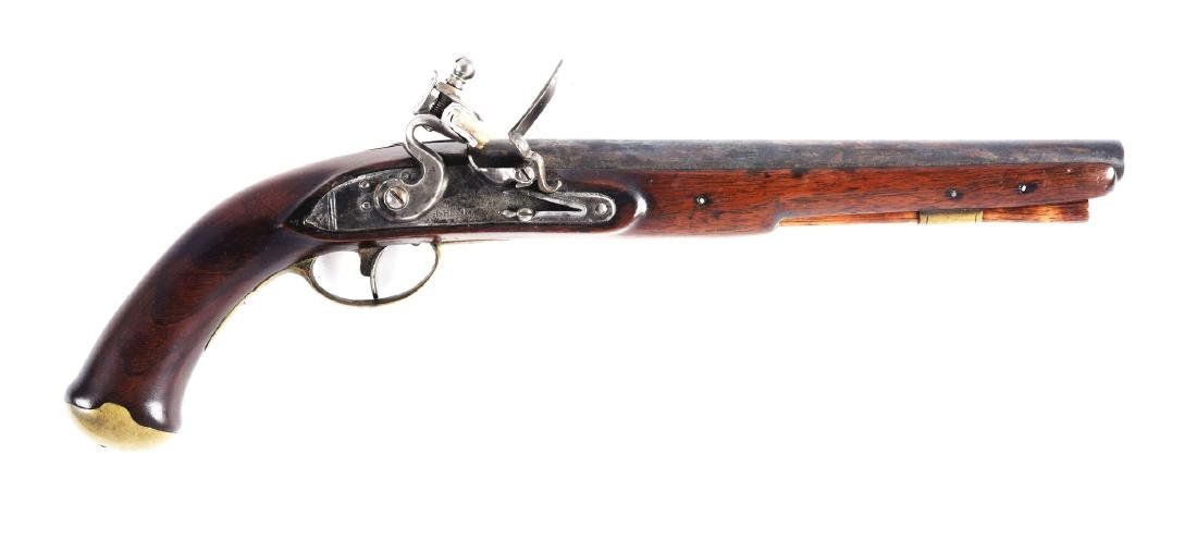 (A) U.S. Model 1808 Style Contract Pistol by Henry.