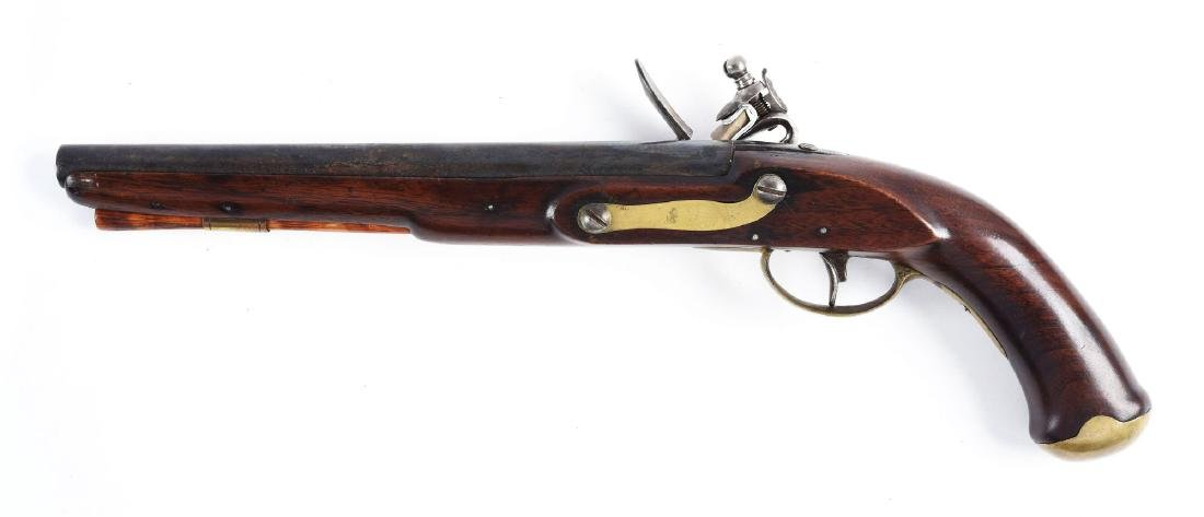 (A) U.S. Model 1808 Style Contract Pistol by Henry. - 2