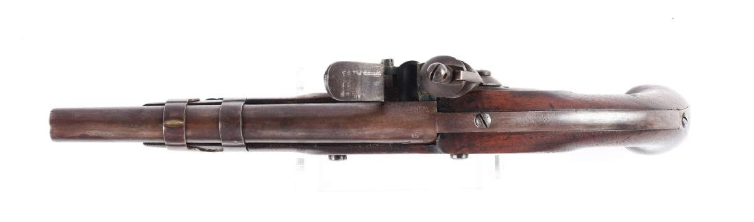 (A) U.S. Model 1816 Flintlock Martial Pistol by North. - 3