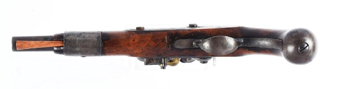 (A) S. North U.S. Model 1816 Flintlock Pistol. - 4
