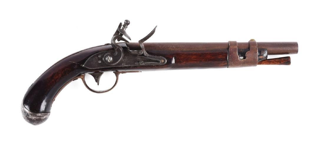 (A) U.S. Springfield Model 1817 Type I Flintlock