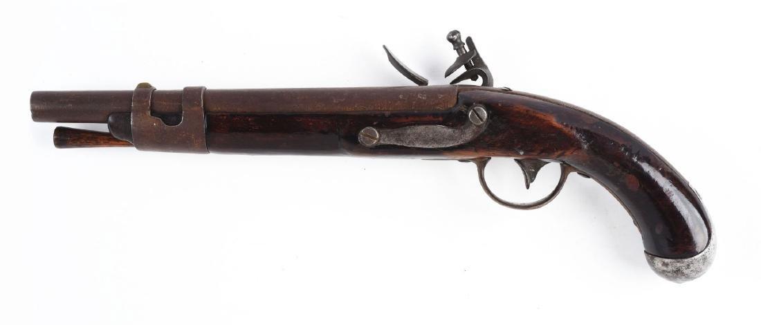 (A) U.S. Springfield Model 1817 Type I Flintlock - 2