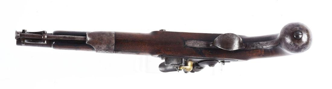(A) U.S. Model 1819 Flintlock Martial Pistol by S. - 4