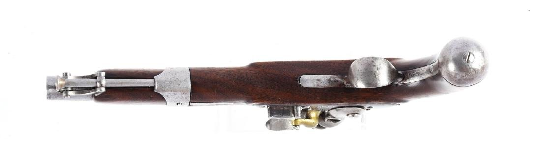 (A) J.J. Henry Model 1826 Type Flintlock Pistol. - 4