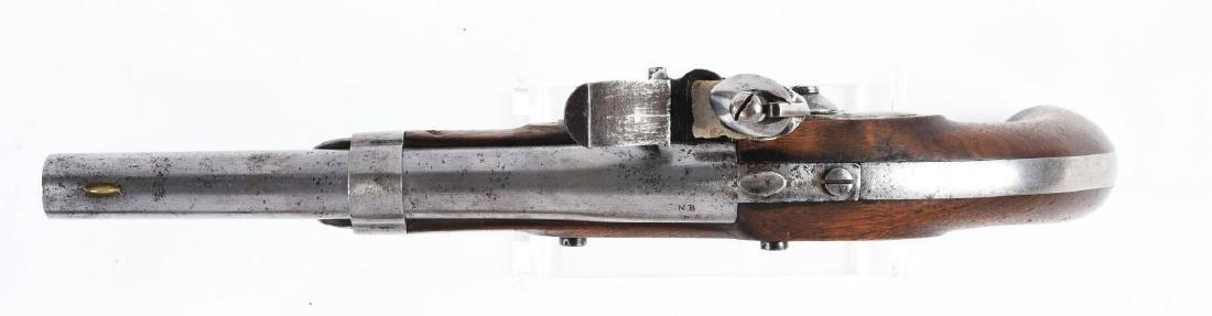 (A) U.S. Model 1836 Flintlock Martial Pistol by Waters. - 3