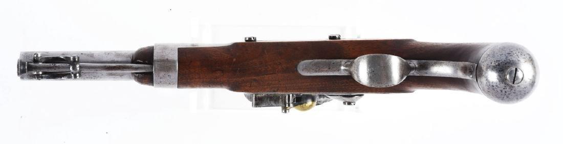 (A) U.S. Model 1836 Flintlock Martial Pistol by Waters. - 4