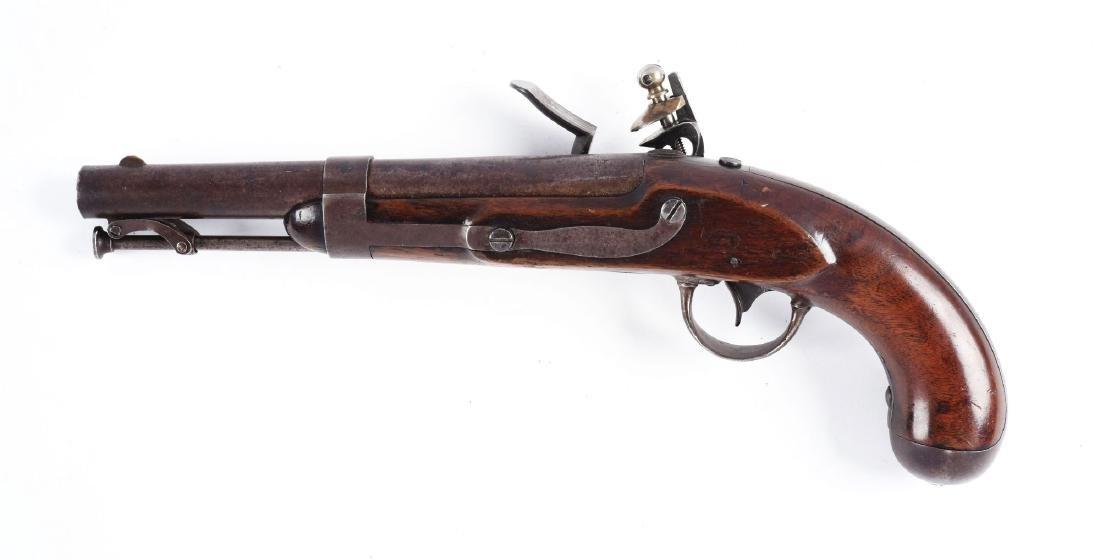 (A) U.S. Model 1836 Flintlock Single Shot Martial - 2