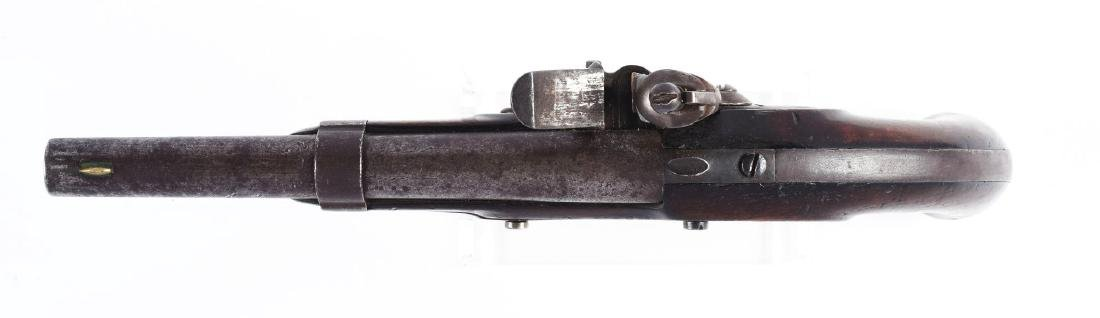 (A) U.S. Model 1836 Flintlock Martial Pistol by Waters. - 3
