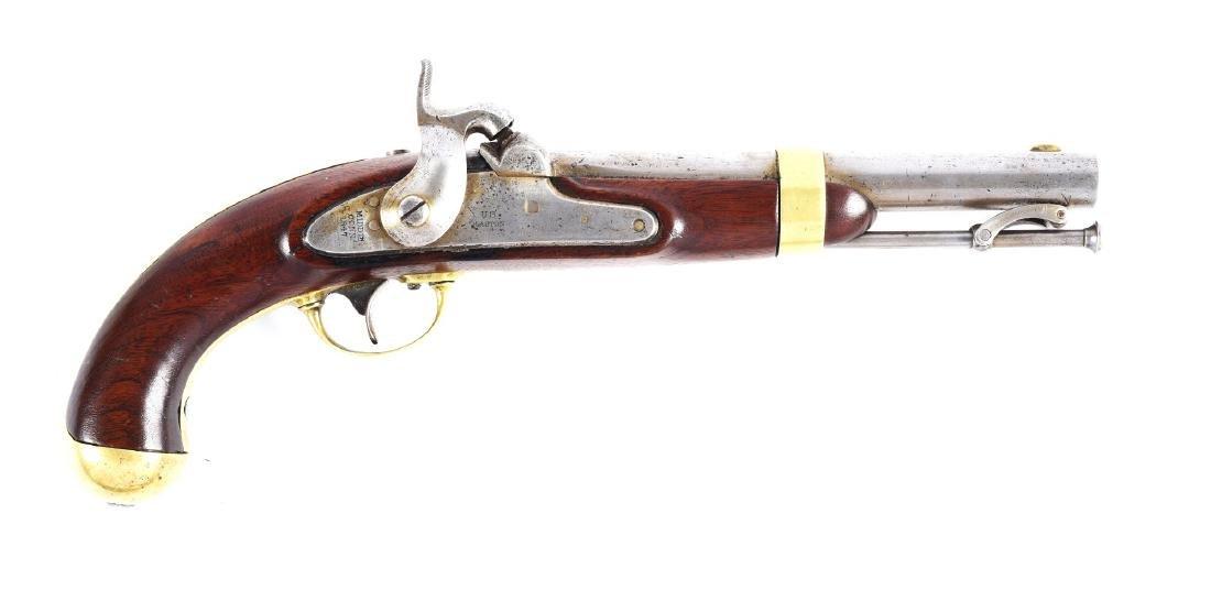 (A) U.S. Model 1842 Percussion Single Shot Martial